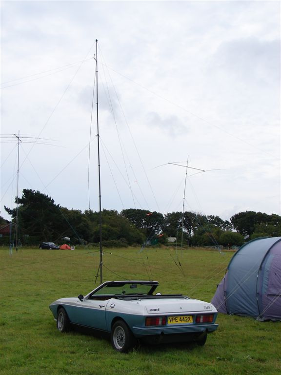 TVR (M0JEC) with antennas